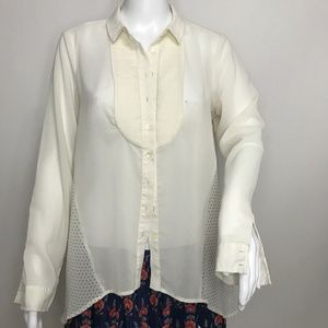 🆕 Maeve Anthropologie Polka Dot Button Shirt 2